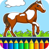 Horse Coloring Book App by Coloring Games