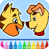 Cats & Dogs App by Coloring Games