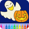 Halloween Drawing for kids App by Coloring Games