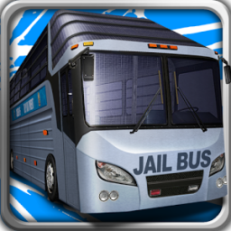 Hill Climb Prison Police Bus App by TrimcoGames