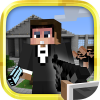 Mine Gun 3d - Cube FPS App by Free Game Studio Inc.