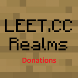 LEET donations (NOT realms) App by LEET