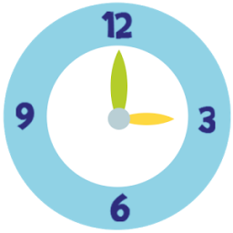 Clockwise - learn the clock :) App by playground