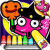 Boo! Monster Coloring Book App by SMARTSTUDY