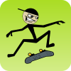 Stickman Skater App by Turbo Chilli