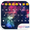 Night Glass Emoji Keyboard App by Colorful Design