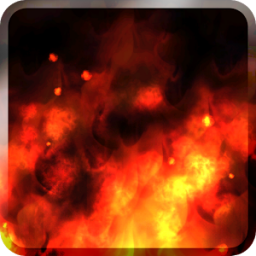 KF Flames Free Live Wallpaper App by Kittehface Software