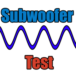 Subwoofer test App by Dmitsoft
