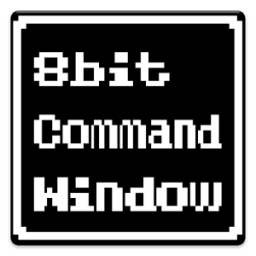 8bit Command Window App by hikaru