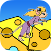 Clumsy Ms Jerry App by MouthShut Games
