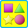 Shapes for kids flashcards App by Zodinplex