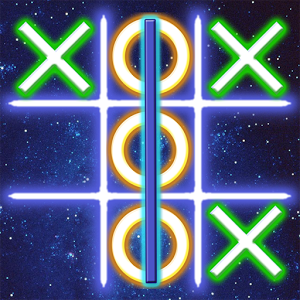 Tic Tac Toe LightGlow App by SpiralTime