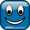 +happy+smiley+emoticon+emoji+blue+ clipart
