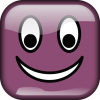 +happy+smiley+emoticon+emoji+purple+ clipart