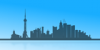 +building+structure+shanghai+city+skyline+ clipart