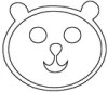 +animal+mammal+Ursidae+bear+smiley+ clipart