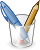 +education+supply+writing+instruments+ clipart