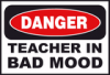 +sign+information+danger+teacher+bad+mood+ clipart