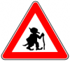 +character+fiction+troll+warning+sign+ clipart
