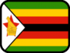 +flag+emblem+country+zimbabwe+outlined+ clipart