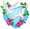 +marry+marriage+wedlock+matrimony+wedding+Dove+Flower+1+ clipart