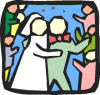 +marry+marriage+wedlock+matrimony+wedding+couple+rice+icon+ clipart