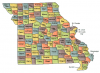 +state+territory+region+map+normal+US+State+Counties+Missouri+ clipart