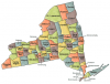 +state+territory+region+map+normal+US+State+Counties+New+York+ clipart