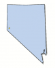 +state+territory+region+map+normal+US+State+nevada+ clipart