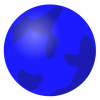 +world+territory+region+map+normal+Earth+Globe+globe+abstract+blue+ clipart