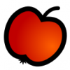 +fruit+food+produce+apple+icon+ clipart