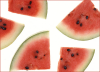 +fruit+food+produce+watermelon+slices+ clipart