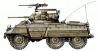 +transportation+military+army+vehicle+M8+ clipart