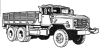 +transportation+military+army+vehicle+M9265tong+ clipart