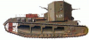 +transportation+military+army+vehicle+Medium+Tank+Mk+A+ clipart