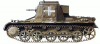+transportation+military+army+vehicle+SdKfz+265+ clipart