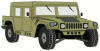 +transportation+normal+military+army+vehicle+HMMWVD+ clipart