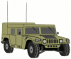 +transportation+normal+military+army+vehicle+HMMWVE+ clipart