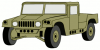 +transportation+normal+military+army+vehicle+HMMWVS+ clipart
