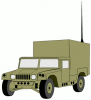 +transportation+normal+military+army+vehicle+HMMWVX+ clipart